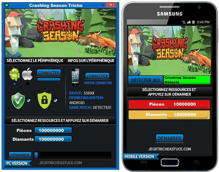 Crashing Season Triche,Crashing Season astuce,Crashing Season pirater,Crashing Season code de triche,