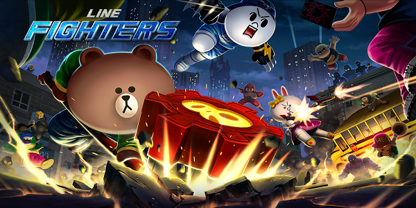 LINE Fighters Triche Astuce Diamants,Or Gratuit Illimite