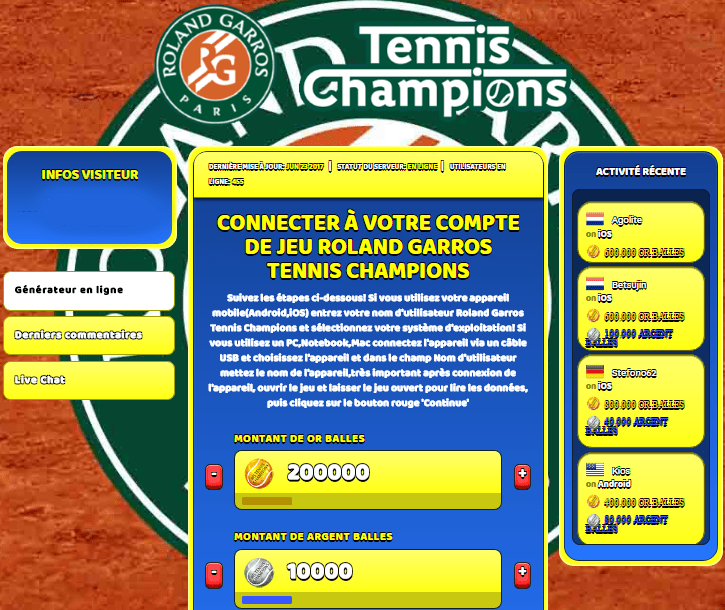 Roland Garros Tennis Champions triche, Roland Garros Tennis Champions triche en ligne, Roland Garros Tennis Champions triche android, Roland Garros Tennis Champions triche Or Balles et Argent Balles gratuit, Roland Garros Tennis Champions triche illimite Or Balles et Argent Balles, Roland Garros Tennis Champions triche ios, Roland Garros Tennis Champions triche ipad, Roland Garros Tennis Champions triche iphone, Roland Garros Tennis Champions gratuit Or Balles et Argent Balles, Roland Garros Tennis Champions triche samsung galaxy, Roland Garros Tennis Champions triche telecharger, Roland Garros Tennis Champions tricher, Roland Garros Tennis Champions tricheu, Roland Garros Tennis Champions tricheur, triche Roland Garros Tennis Champions, code de triche Roland Garros Tennis Champions, Roland Garros Tennis Champions astuce, Roland Garros Tennis Champions astuce en ligne, Roland Garros Tennis Champions astuce android, Roland Garros Tennis Champions astuce gratuit, Roland Garros Tennis Champions astuce ios, Roland Garros Tennis Champions astuce iphone, Roland Garros Tennis Champions astuce telecharger, Roland Garros Tennis Champions astuces, Roland Garros Tennis Champions astuces gratuit, Roland Garros Tennis Champions astuces android, Roland Garros Tennis Champions astuces ios,, Roland Garros Tennis Champions astuces telecharger, Roland Garros Tennis Champions astuce Or Balles et Argent Balles, Roland Garros Tennis Champions cheat, Roland Garros Tennis Champions cheats, Roland Garros Tennis Champions cheat Or Balles et Argent Balles, Roland Garros Tennis Champions cheat gratuit, Roland Garros Tennis Champions cheat iphone, Roland Garros Tennis Champions cheat telecharger, Roland Garros Tennis Champions hack online, Roland Garros Tennis Champions hack generator, Roland Garros Tennis Champions hack android, Roland Garros Tennis Champions hack Or Balles et Argent Balles, Roland Garros Tennis Champions illimité Or Balles et Argent Balles, Roland Garros Tennis Champions mod apk, Roland Garros Tennis Champions mod apk Or Balles et Argent Balles, Roland Garros Tennis Champions mod apk android, Roland Garros Tennis Champions outil, Roland Garros Tennis Champions outil de piratage, Roland Garros Tennis Champions pirater, Roland Garros Tennis Champions pirater en ligne, Roland Garros Tennis Champions pirater android, Roland Garros Tennis Champions pirater Or Balles et Argent Balles, Roland Garros Tennis Champions pirater gratuit, Roland Garros Tennis Champions pirater ios, Roland Garros Tennis Champions pirater iphone, Roland Garros Tennis Champions pirater illimite Or Balles et Argent Balles, Roland Garros Tennis Champions triche jeu, Roland Garros Tennis Champions astuce triche en ligne, comment tricheur sur Roland Garros Tennis Champions, Or Balles et Argent Balles gratuit dans Roland Garros Tennis Champions, Roland Garros Tennis Champions illimite Or Balles et Argent Balles, Roland Garros Tennis Champions hacken, Roland Garros Tennis Champions beschummeln, Roland Garros Tennis Champions betrügen, Roland Garros Tennis Champions betrügen Or Balles et Argent Balles, Roland Garros Tennis Champions unbegrenzt Or Balles et Argent Balles, Roland Garros Tennis Champions Or Balles et Argent Balles frei, Roland Garros Tennis Champions hacken Or Balles et Argent Balles, Roland Garros Tennis Champions Or Balles et Argent Balles gratuito, Roland Garros Tennis Champions mod Or Balles et Argent Balles, Roland Garros Tennis Champions trucchi, Roland Garros Tennis Champions engañar