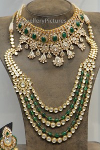 Kundan Jewellery Bridal set