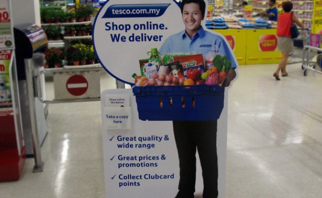 How We Bought Groceries Online From Tesco 6 Steps Jewelpie