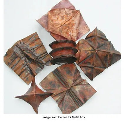 copper forms from the Center for Metal Arts