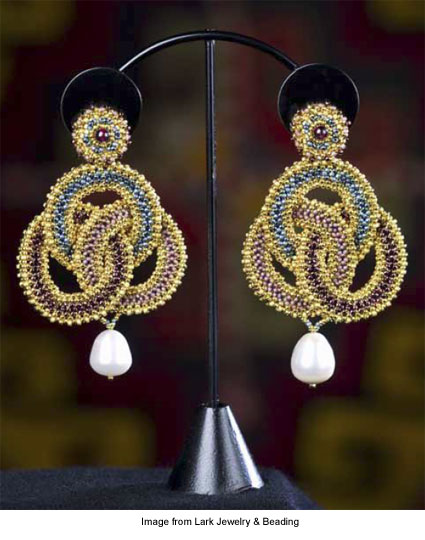 "Maggie Meister's ""Artemisia"" earrings"