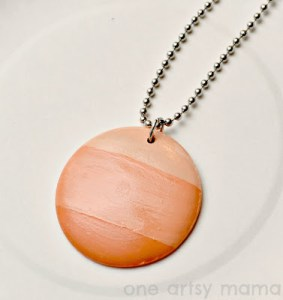 Coral Ombre Necklace