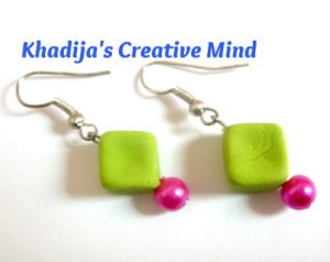 Clay Bead Earrings