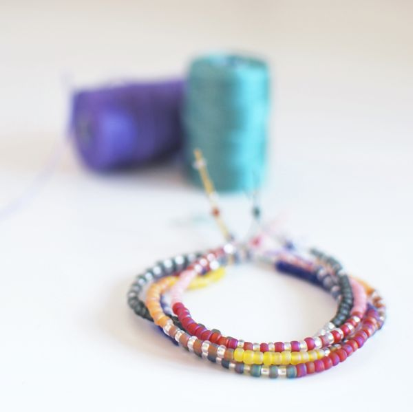 diy seed bead friendship bracelets