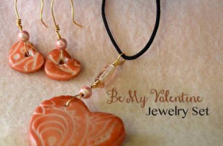 Be My Valentine Jewelry Set Tutorial