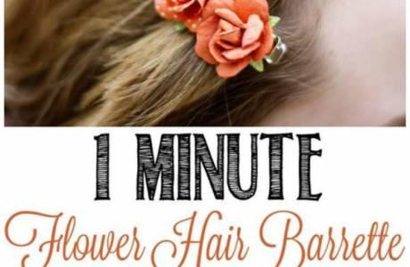 1 Minute Hair Barrettes