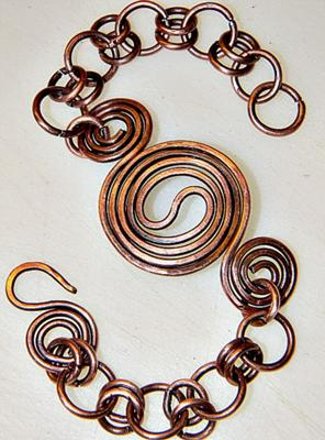 Yin Yang Copper Bracelet Jewelry Making Journal