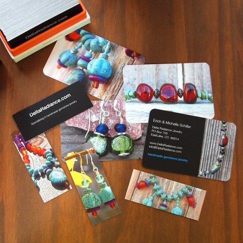 New Jewelry Business Cards Using Moo Print \u2013 Jewelry Making Journal
