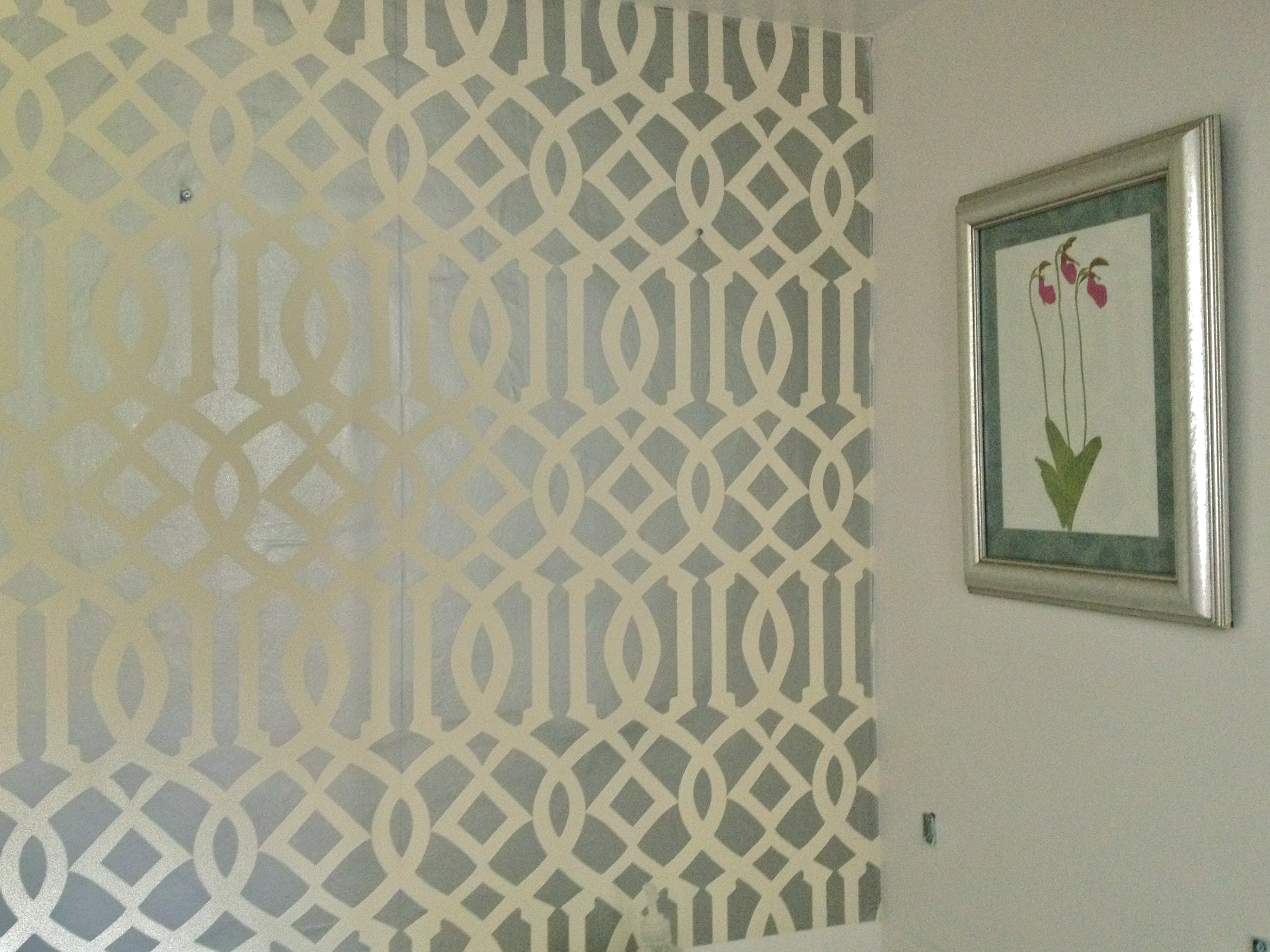 Mirror Frame Adhesive Wallpaper Jewels At Home