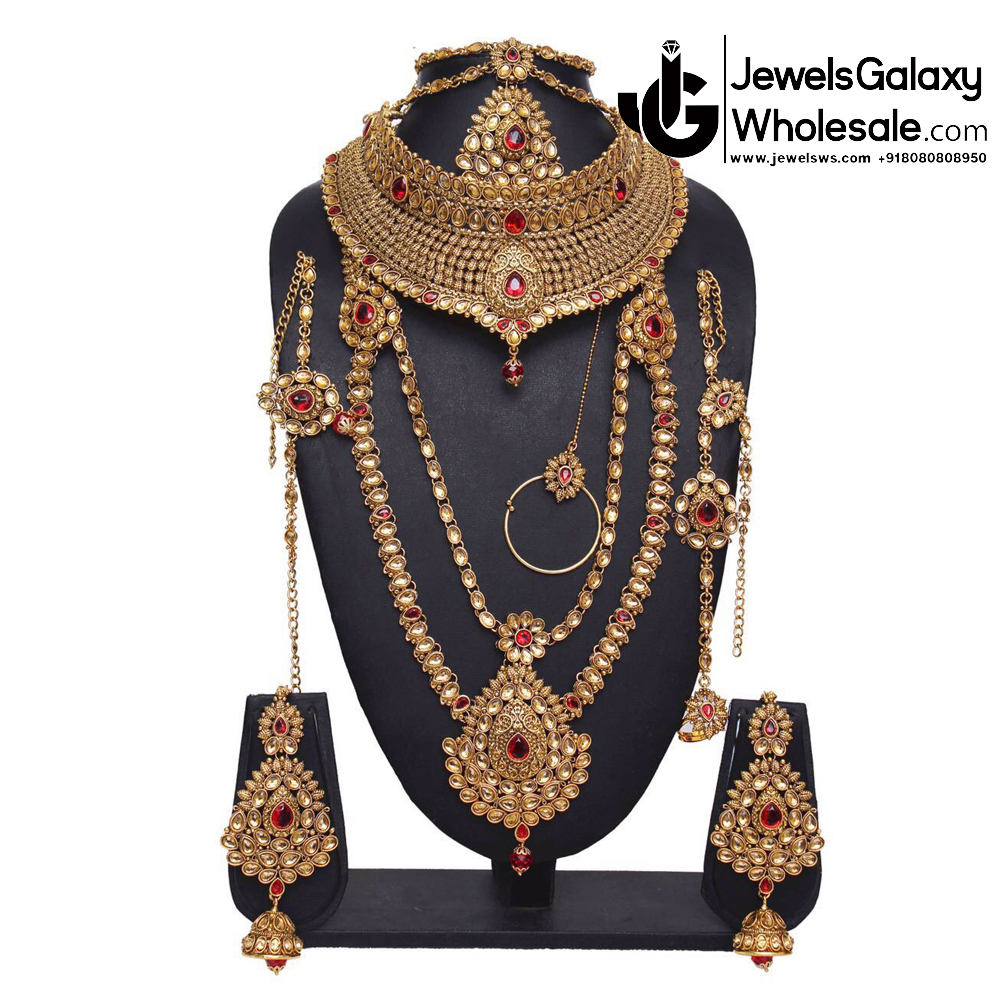 Rajasthani Jewellery Set - Rajasthani Jewellery Designs Catalogue