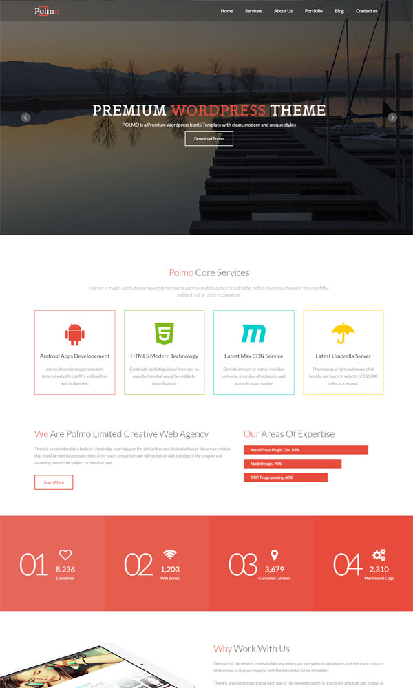 30+ Bootstrap Website Templates Free Download - bootstrap one page template