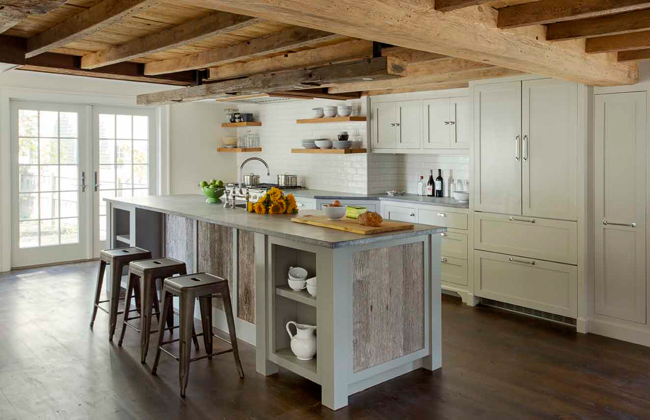 Barn Board Kitchen Cabinets Houzz 39s Most Popular Kitchen Photos Of 2015 A Jf Review