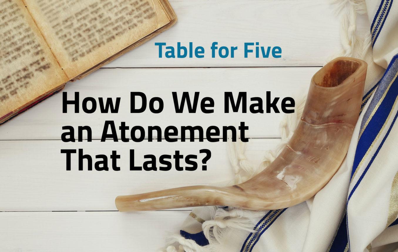Table For Five Yom Kippur