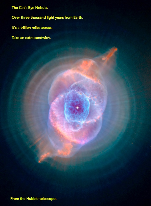 Cats Eye Nebula From Hubble