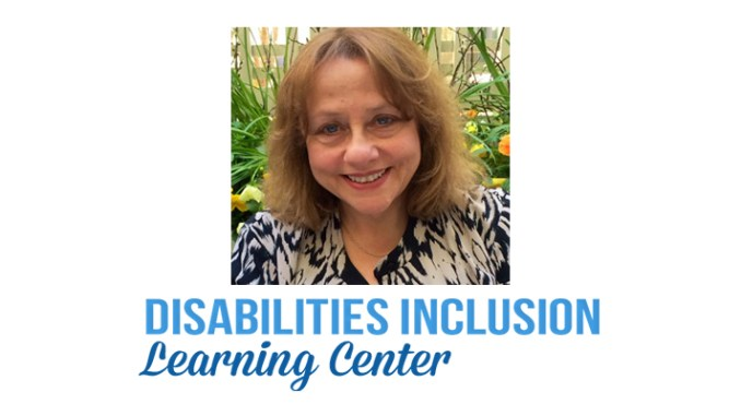 Rabbi Edythe Mencher of the Disabilities Inclusion Learning Center
