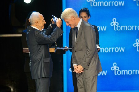 Israeli President Shimon Peres Celebrates 90th Birthday