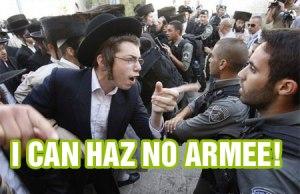 No Armee pleez!
