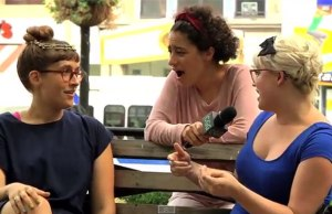 Ilana Glazer asks people about virginity