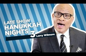 Stephen Colbert Celebrates The Third Night Of Hanukkah with Larry Wilmore