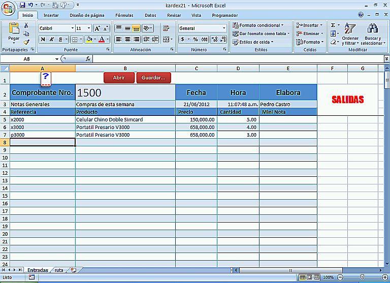 inventarios1jpg - formato inventario en excel