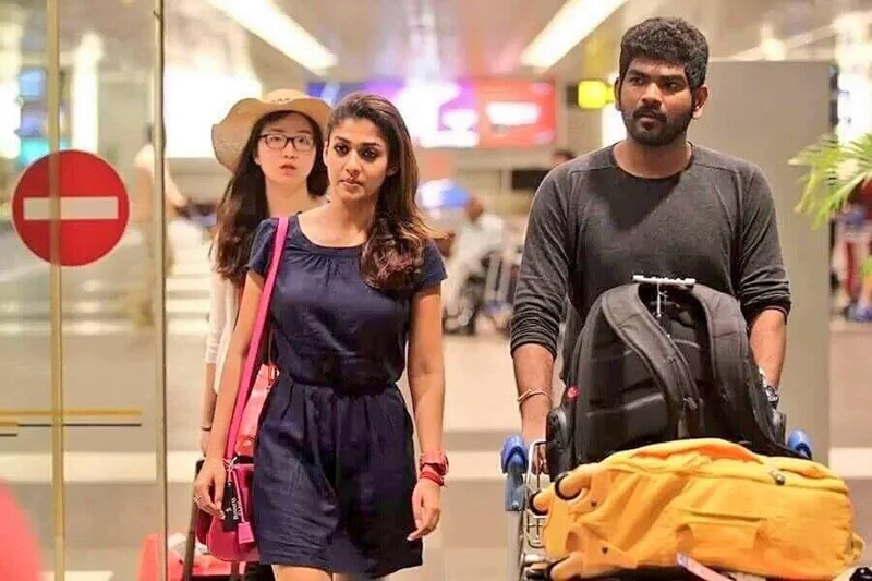 Cute Marriage Couple Wallpaper Nayanthara And Vignesh Sivan Were Inseparable At Siima