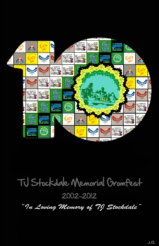TJ Stockdale 10 year anniversary poster