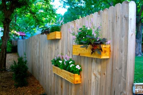 Medium Of Fence Garden Planters
