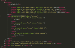 Example of Switch Case in AngularJS using ng-switch Directive