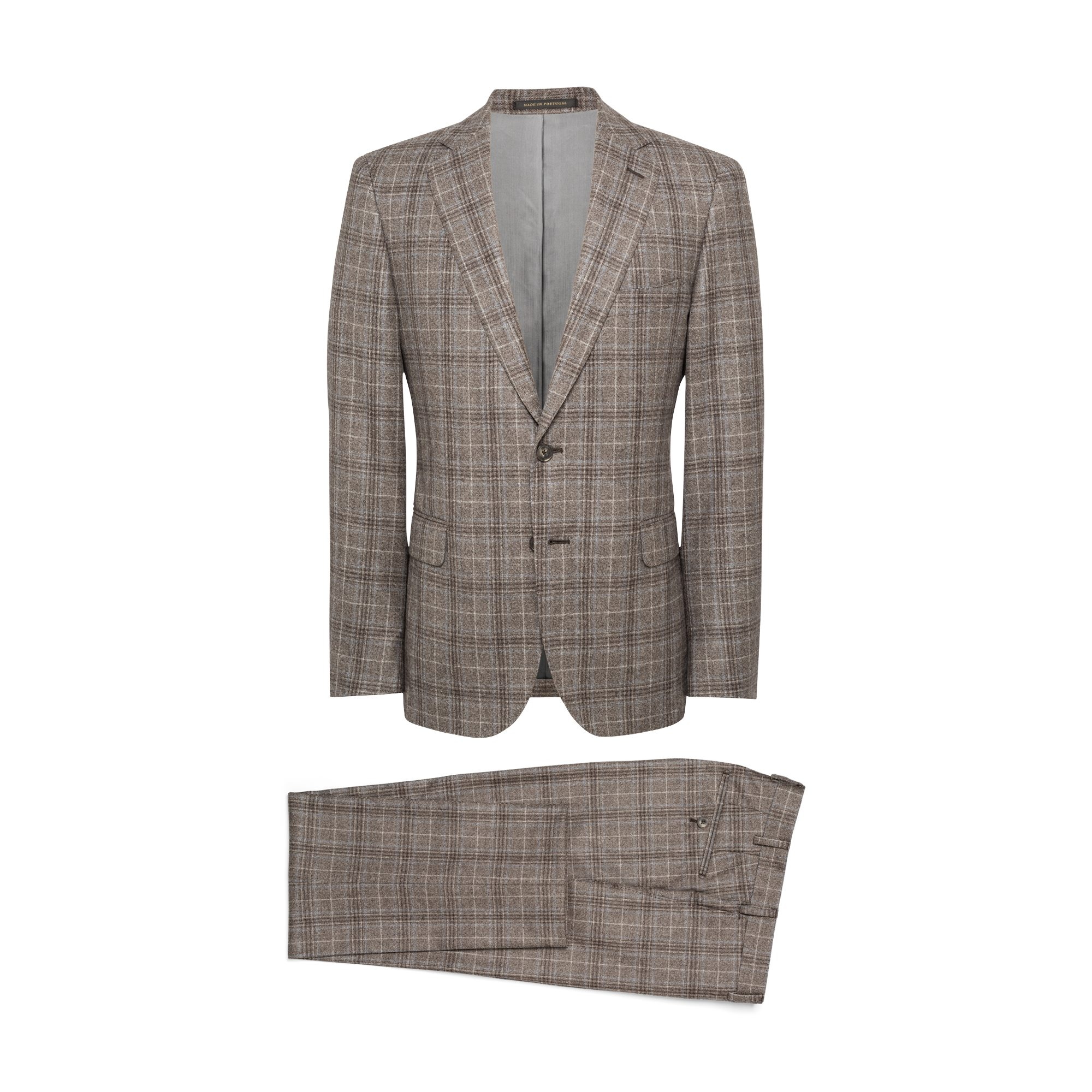 Plaid Taupe Deep Taupe Grey Plaid J Hilburn