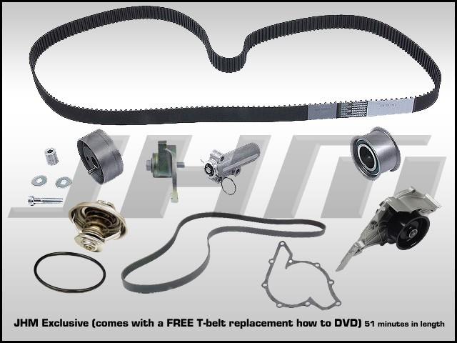 Audi JHM 28l Timing Belt Kit with Install DVD
