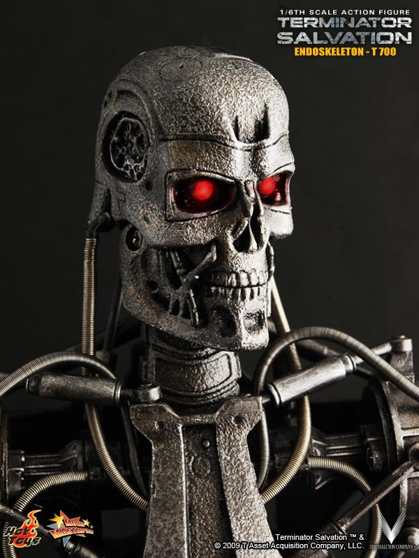 Tapeti Hot Toys: Terminator Salvation – Endoskeleton T-700