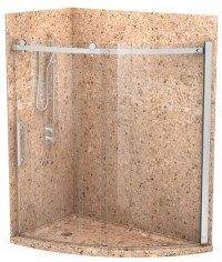 Granite shower wall panels stone shower wall panels marble ...