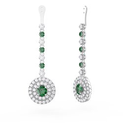 Small Of White Gold Earrings