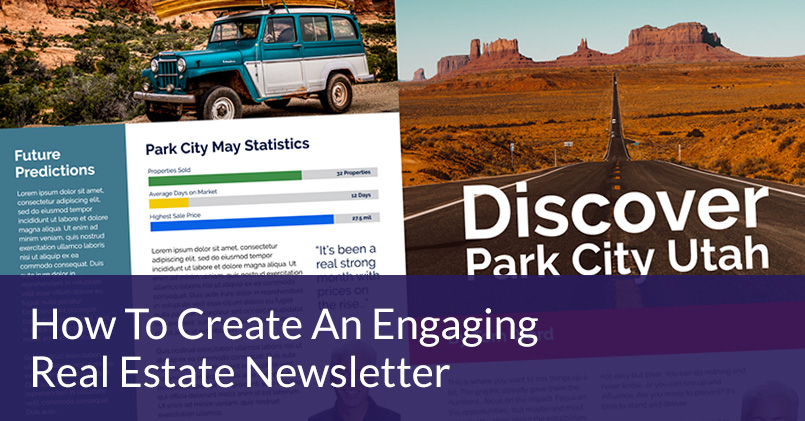 How To Create An Engaging Real Estate Newsletter Template \u2013 Jigglar