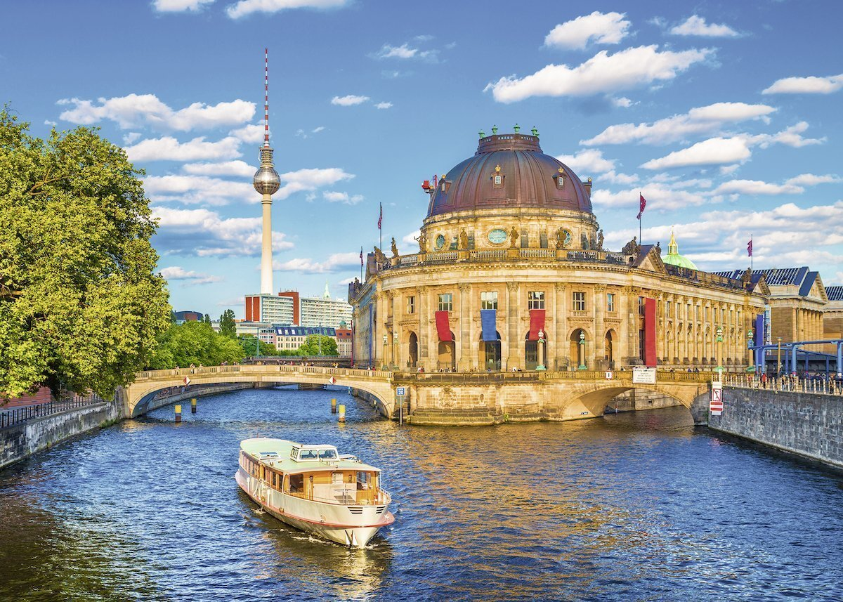 Berlin Puzzle Buy Ravensburger Berlin Museum Island Puzzle 1000pc