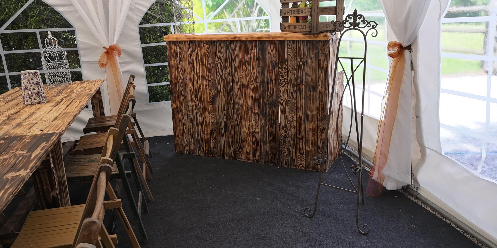 Rustic Style Bar Rustic Style Bar For Hire Jigsaw Vintage South Midlands