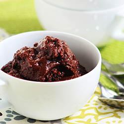 Mexican Chocolate Granita / JillHough.com