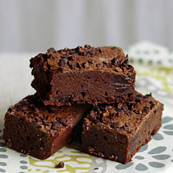 Mexican Chocolate and Cherry Brownies