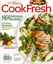 Cooking Fresh, the best of Fine Cooking, Fall 2013 on JillHough.com