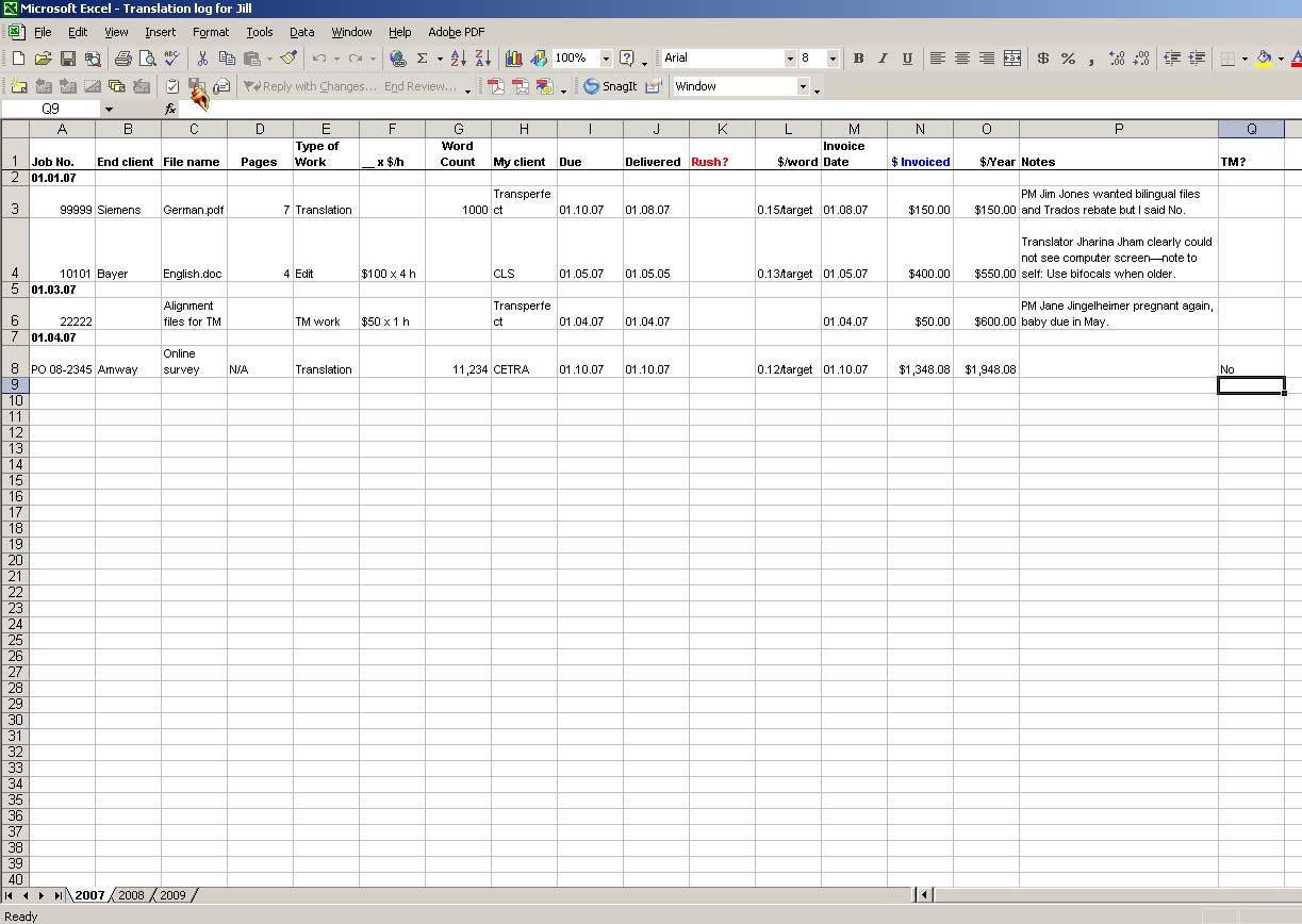 job sheets templates excel – Excel Job Sheet Template