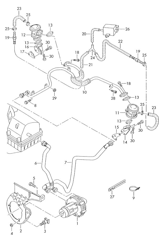 1989 Mercedes 300e Vacuum Diagram - Best Place to Find Wiring and
