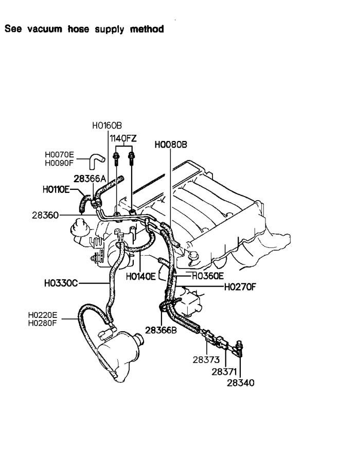 hyundai santa fe vacuum hose diagram