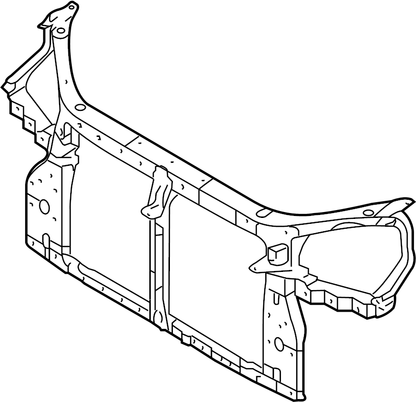 2005 hyundai tucson front end diagram