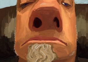 Selfie Series Digital # 4