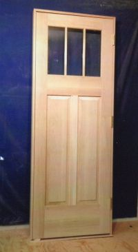 Exterior Wooden Doors With Glass Panels