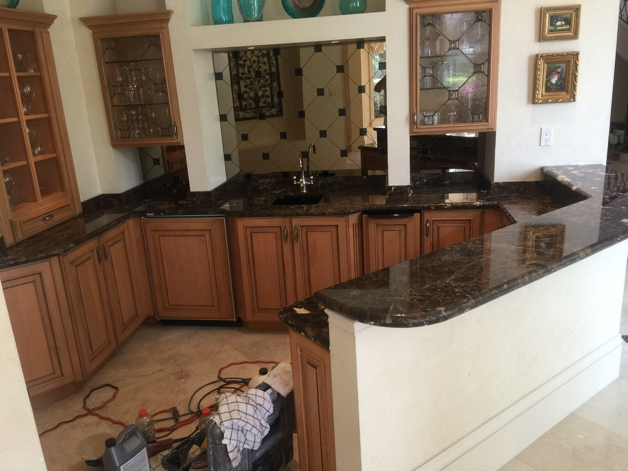 How To Grind Granite Countertops Counters And Walls Jim Lytell Marble And Stone