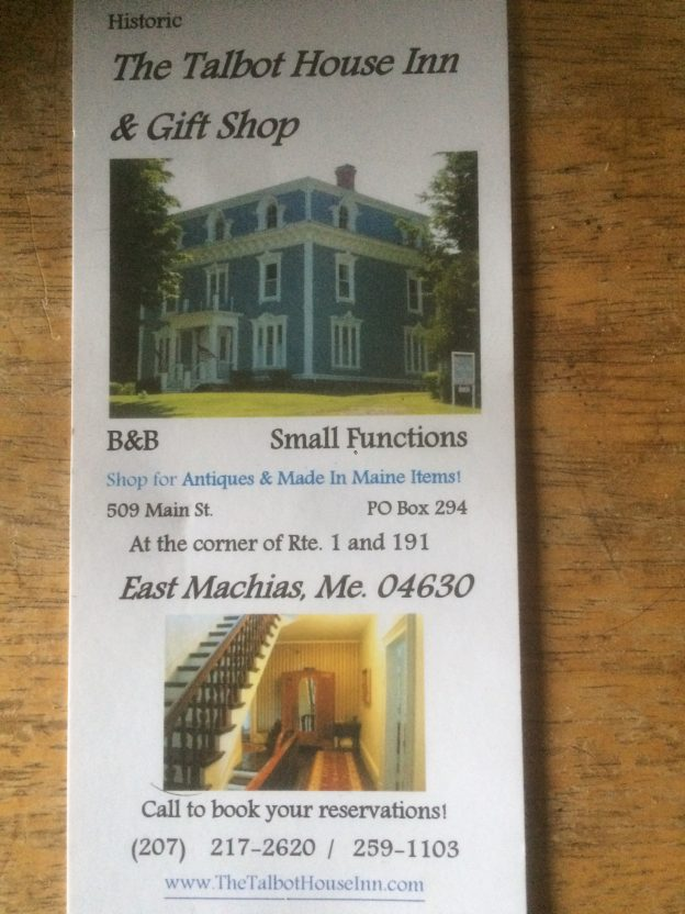 The Talbot House Inn, \u201cLowell\u0027s Best Kept Secret,\u201d Maggie Lamp, and - House Advertisements