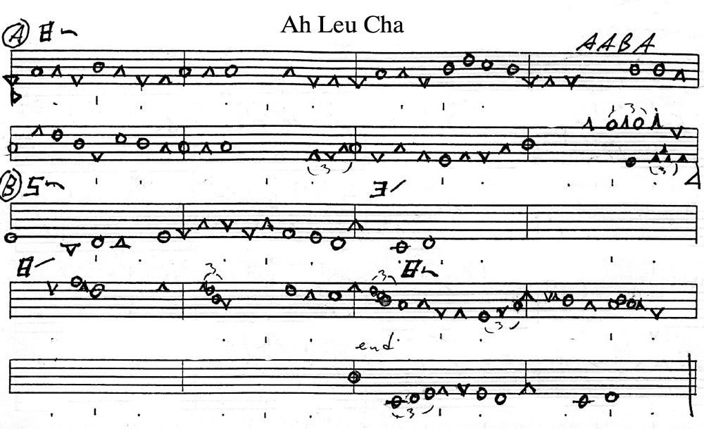 Jim Schmidt\u0027s Notation system (copyright 2000)SAMPLE SHEET MUSIC